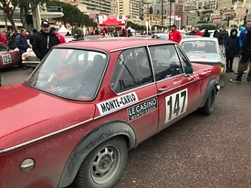 Photos du Rally Monte Carlo Historique 2018