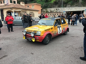 Renault 5 Valence Rally Monte Carlo Historique 2018