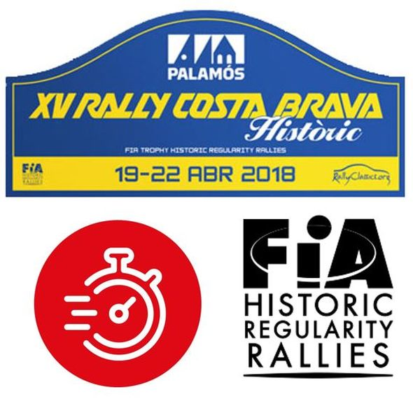 Cronometratge BLUNIK PRECISION CHRONO al FIA Trophy for Historic Regularity Rallies