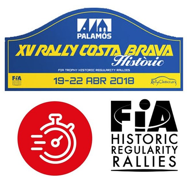 Cronometraje BLUNIK PRECISION CHRONO en el FIA Trophy for Historic Regularity Rallies