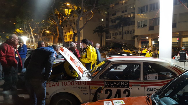 To live the MonteCarlo Historique Rally 2019