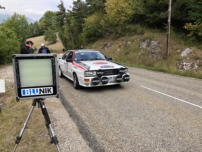 Blunik at the 11th Gèneve-Cannes Rally