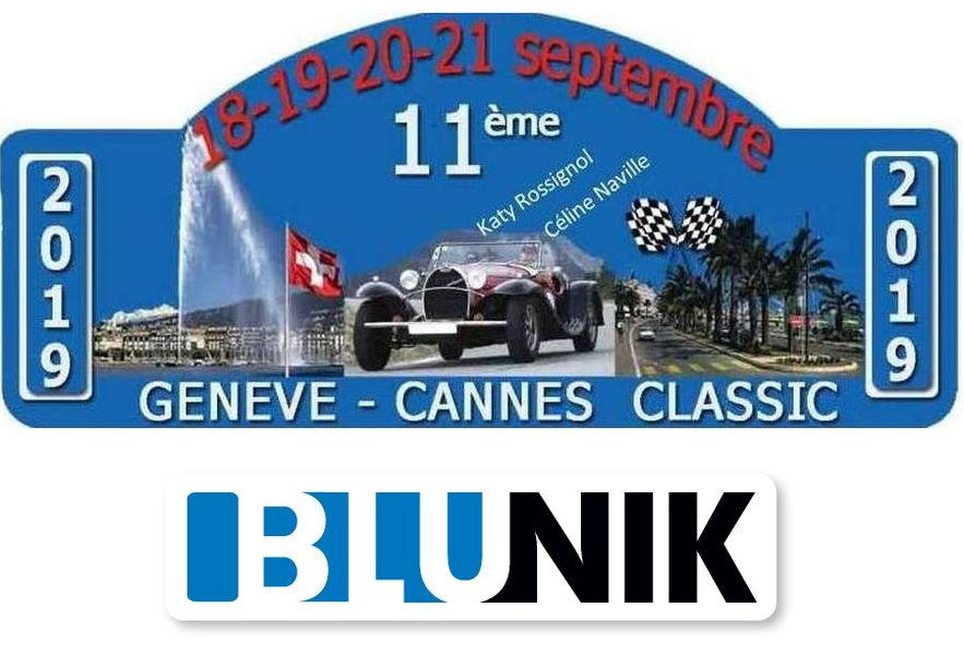 How to use Blunik in the Gèneve-Cannes rally