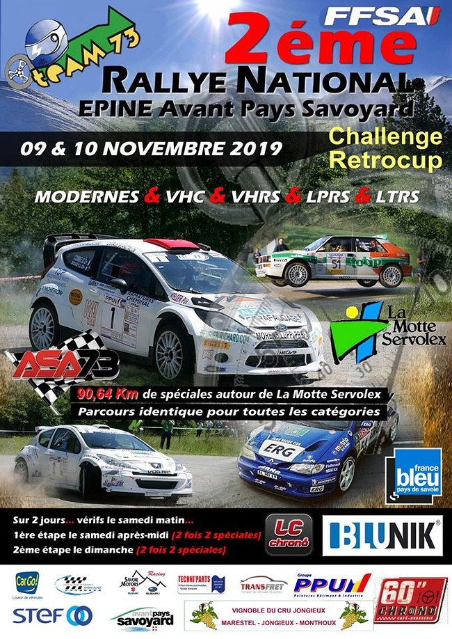Rallye National de l'Épine 2019