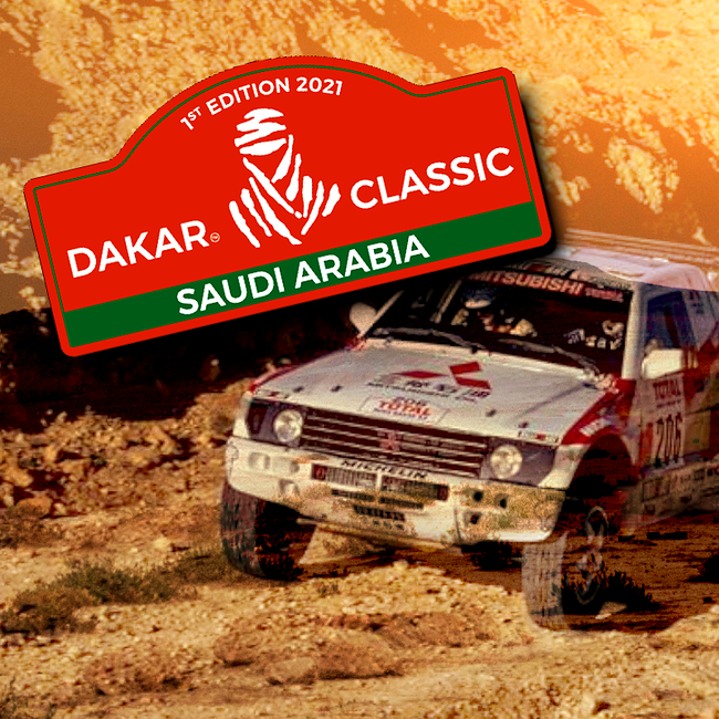 The Dakar 2021 has a regularity category for classic cars