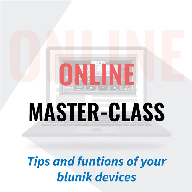 Sign up for the new Blunik online courses!