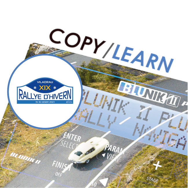Mode COPY / LEARN au Rally d'Hivern