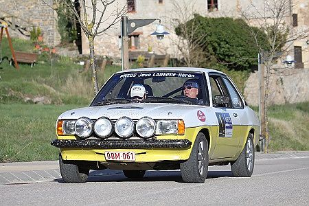 LAREPPE, IN RALLY COSTA BRAVA HISTÒRIC