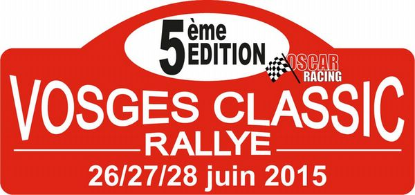 VOSGES CLASSIC RALLYE 2015 Prologue