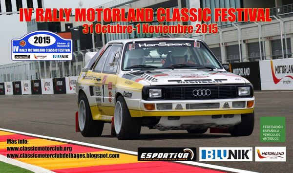 IV Rally Motorland Classic Festival
