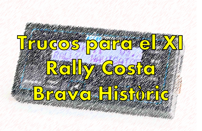 Blunik features for Rally Costa Brava Historic
