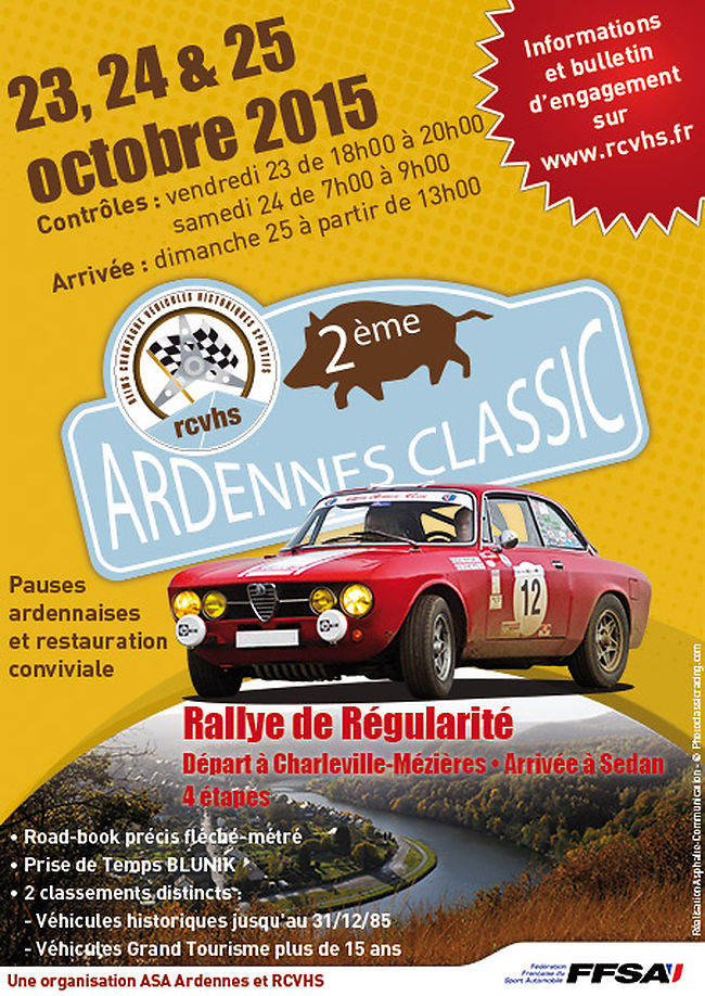 II Ardennes Classic, VHR