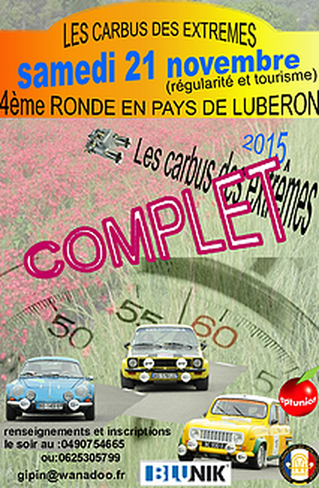 Classificacions Ronde en pays du Luberon