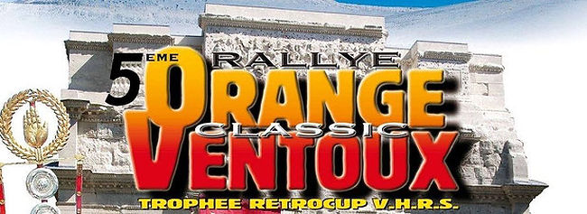 5th Rallye Orange Ventoux Classic