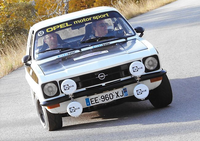Blunik Racing Team in Rally Monte Carlo Historic 2017