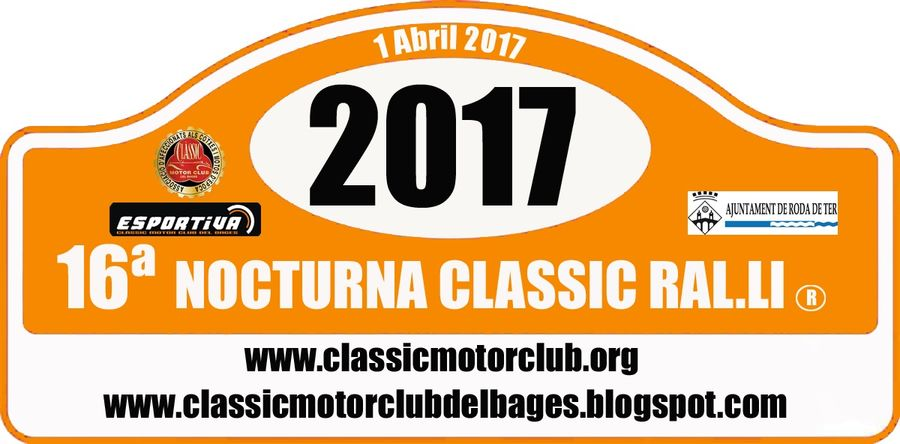 16ª Nocturna Classic Rally