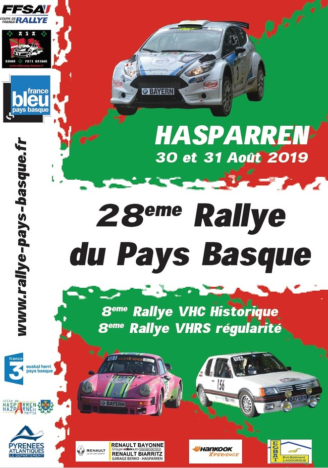 8eme Rally du Pays Basque