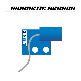 Intallation of magnetic sensors